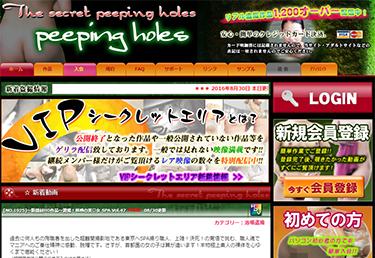 PEEPING-HOLES(ピーピングホールズ)はどんなサイトだった?閉鎖された驚愕の理由とは