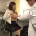 【動画あり】JKが健康診断で医者に触診と言われ、おっぱいを触られる 乳首を責められ我慢しつつも漏れる吐息が卑猥